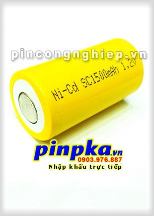 Pin Sạc Công Nghiệp-Pin Cell 1,2v NiCD SC 1500mAh